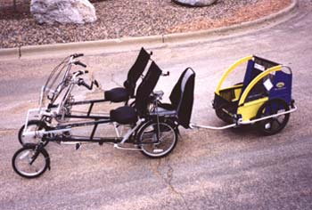 Quadribent Recumbent bikes Parts and Accessories
