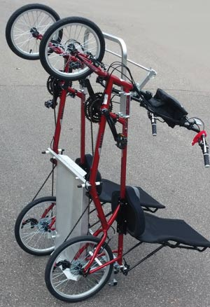 Ez Quadribent Side By Side Recumbent Bicycles For Two